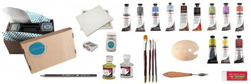 Oil paint, oil paint kit, Artcentric, Pretoria, Online art materials, Online craft materials, Online craft supplies, Craft supplies, Artshop, online Artshop, Art shop gauteng, Art shop South-Africa, art kit