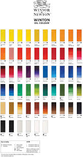 Colour chart, Winsor & newton, Winton Oils, Oil paint, Artcentric, Pretoria, Online art materials, Online craft materials, Online craft supplies, Craft supplies, Artshop, online Artshop, Art shop gauteng, Art shop South-Africa,