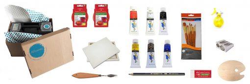 Artcentric, Online art shop, online art supplies, Art supplies Pretoria, Artshop Pretoria, Art shop Gauteng, Art shop South Africa, Art supplies Pretoria, Artcentric kit, acrylic paint kit, art materials