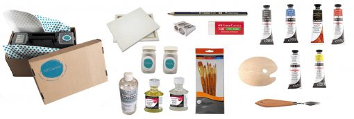 Artcentric, Online art shop, online art supplies, Art supplies Pretoria, Artshop Pretoria, Art shop Gauteng, Art shop South Africa, Art supplies Pretoria, Artcentric kit, Oil paint kit, art materials